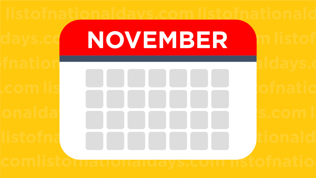 November List Of National Days
