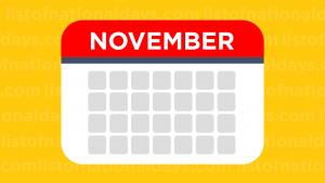 November List Of National Days