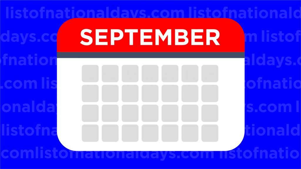 September List Of National Days