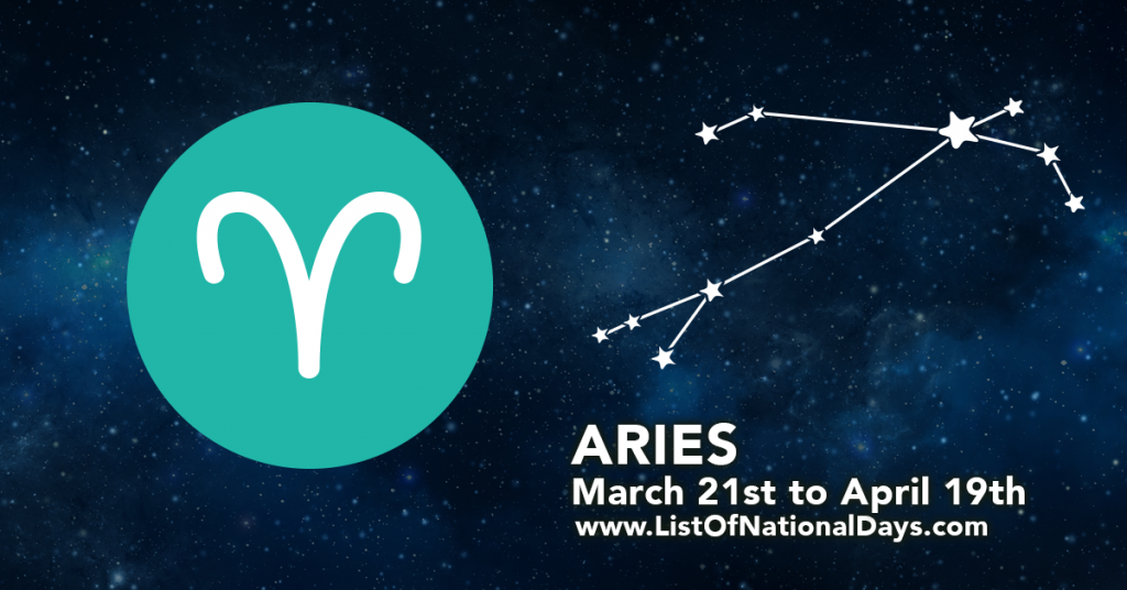 The star pattern for Aries.