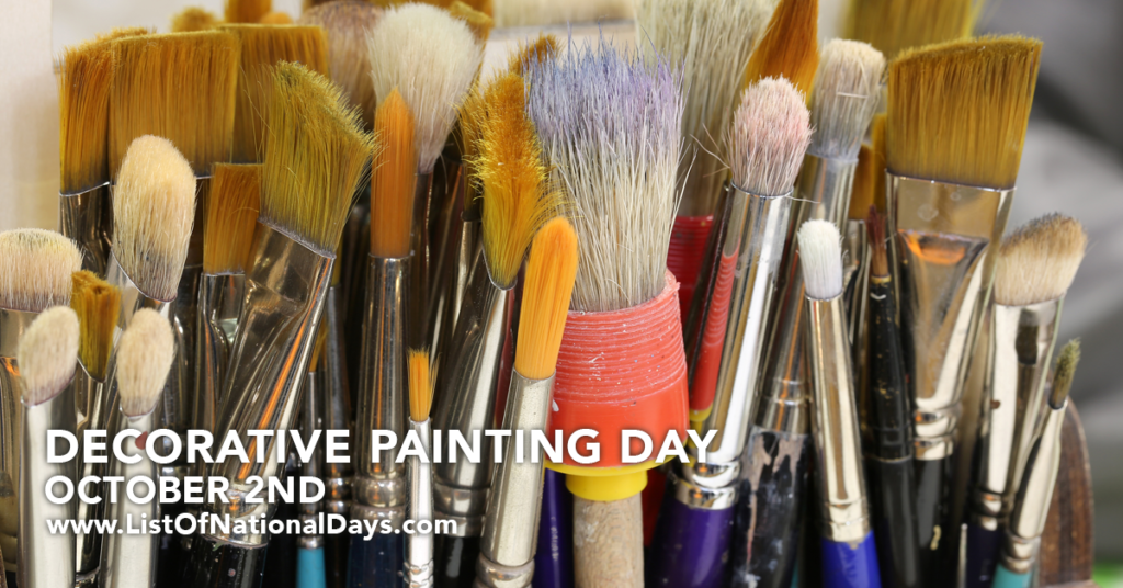 INTERNATIONAL DECORATIVE PAINTING DAY