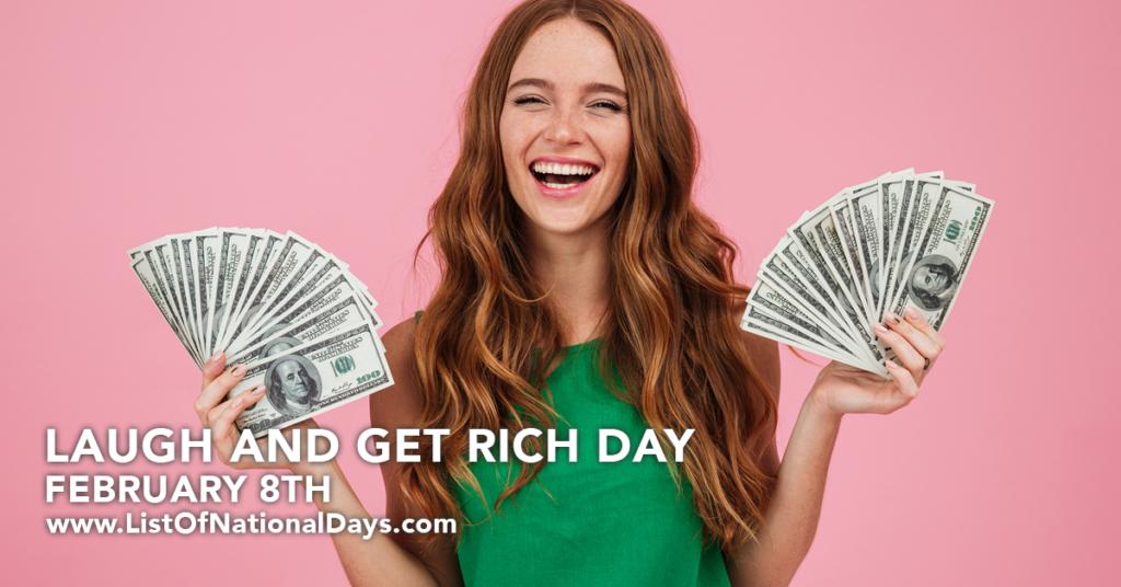 Pretty girl holding $100 bills.