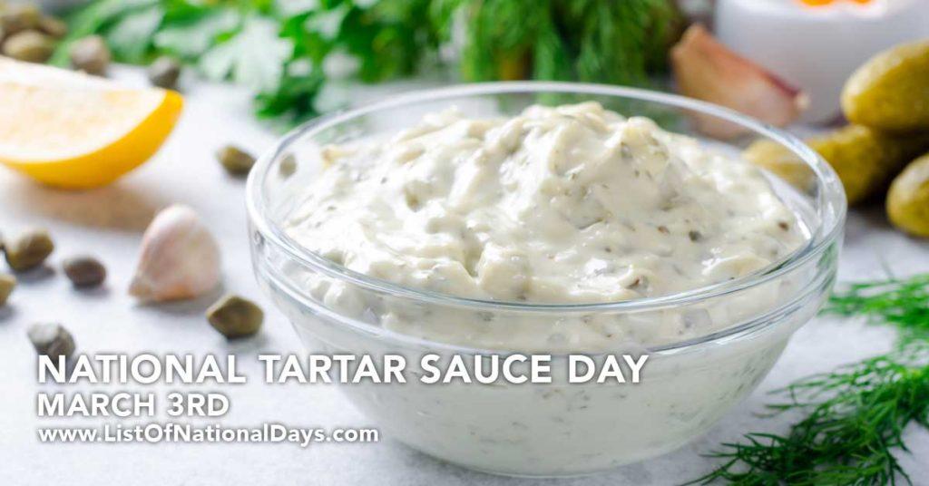 A huge bowl of tarter sauce