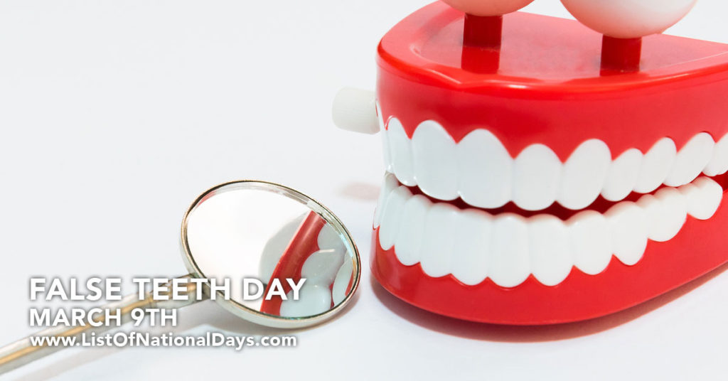 A photo of chattering teeth toy