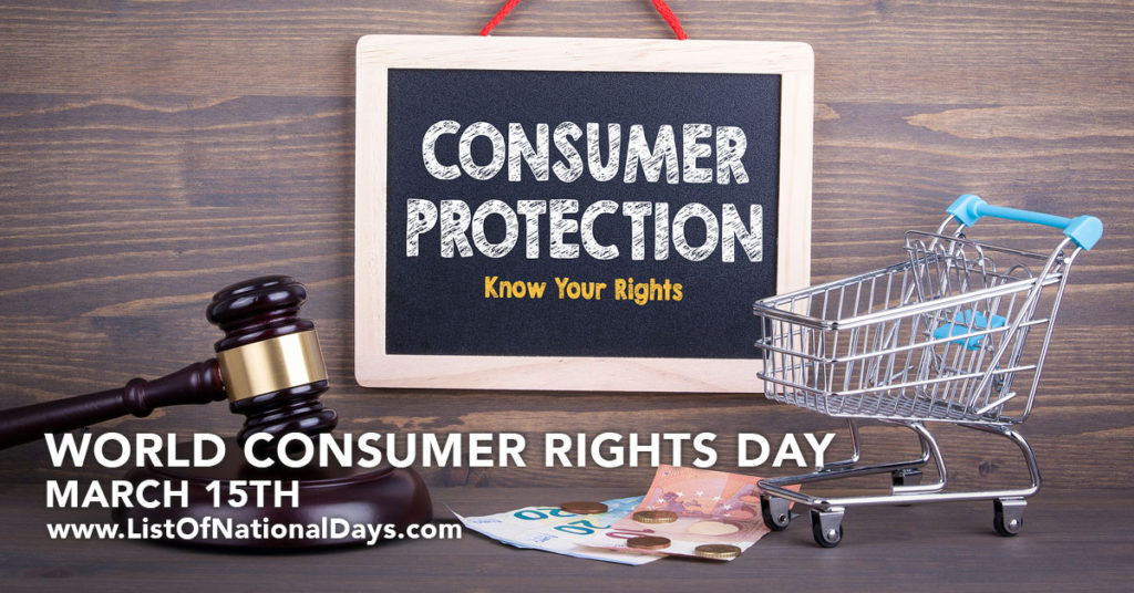 """A sign with the words """"Consumer Protection"""" written on it."""