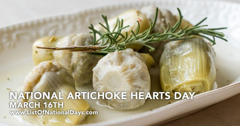 A plate of artichoke hearts