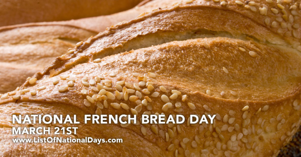 A close up of a loaf of French bread