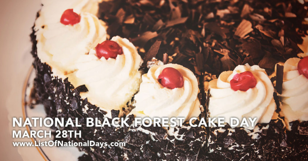 A delicious looking Black Forest Cake
