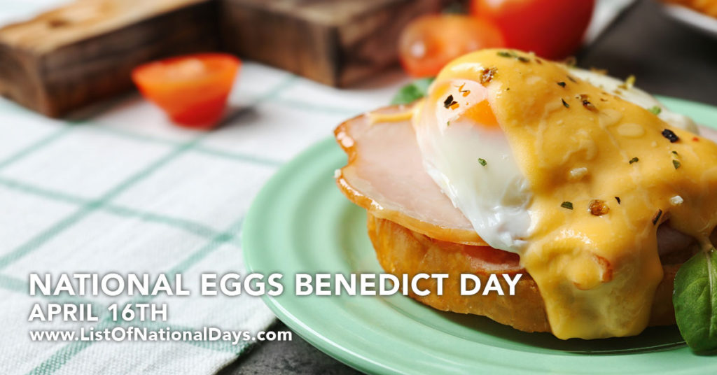 A plate of Eggs Benedict.