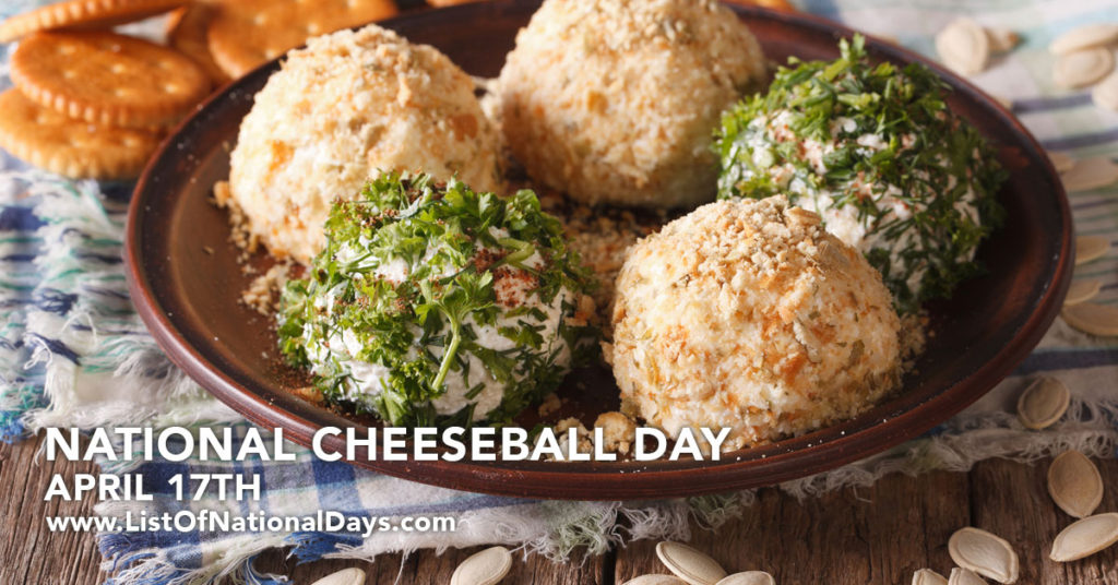 A plate of cheese balls