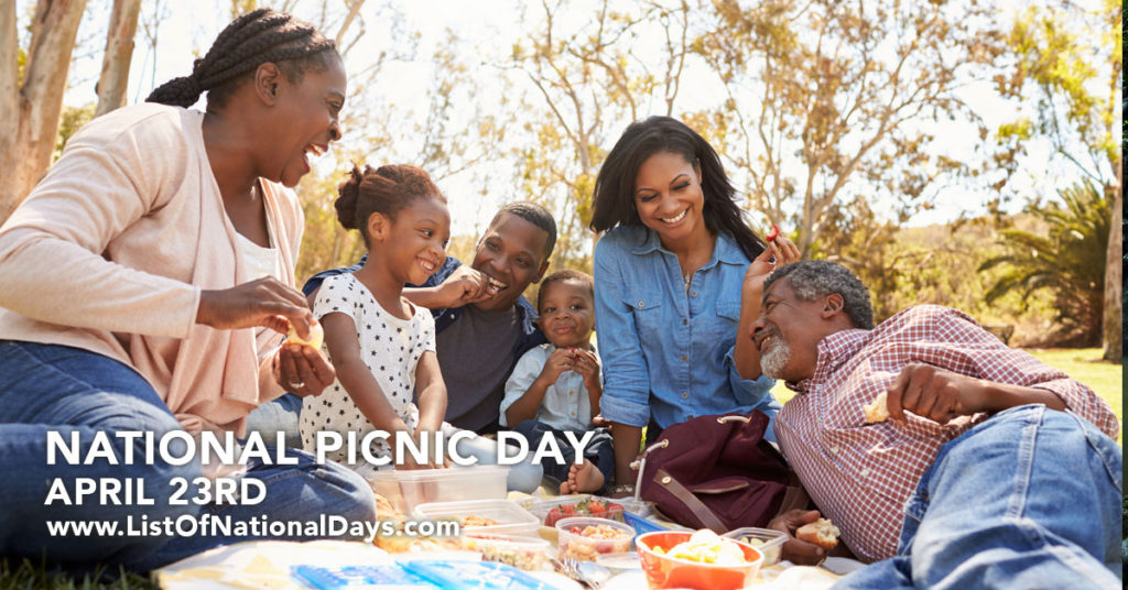Black folks having a picnic