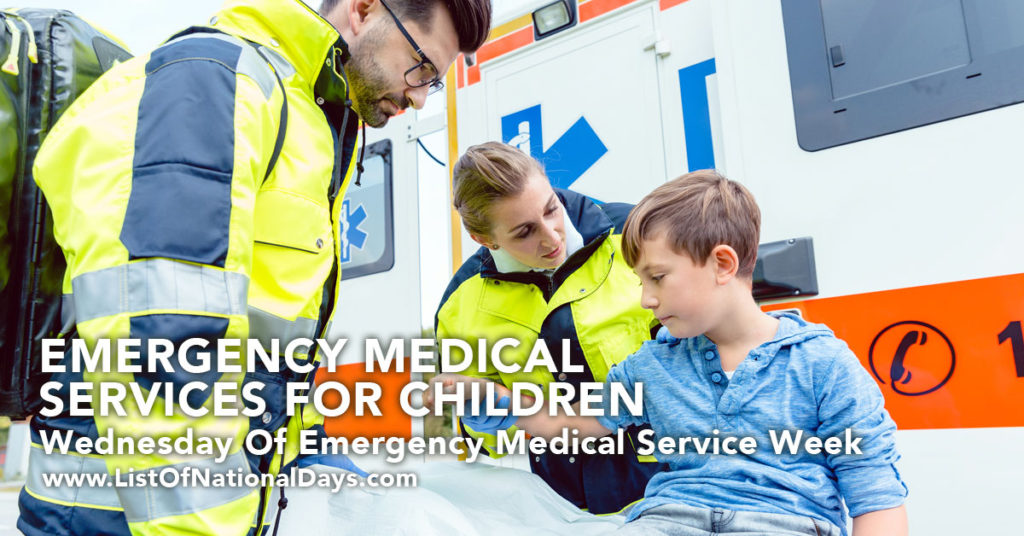 EMP's assisting a child.