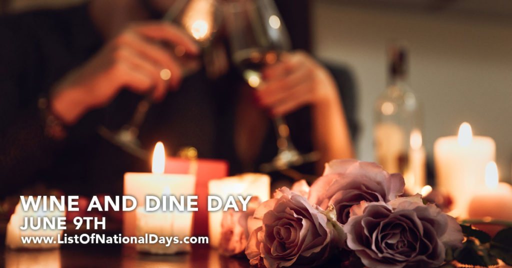 A romantic dinner with candle light and wine.