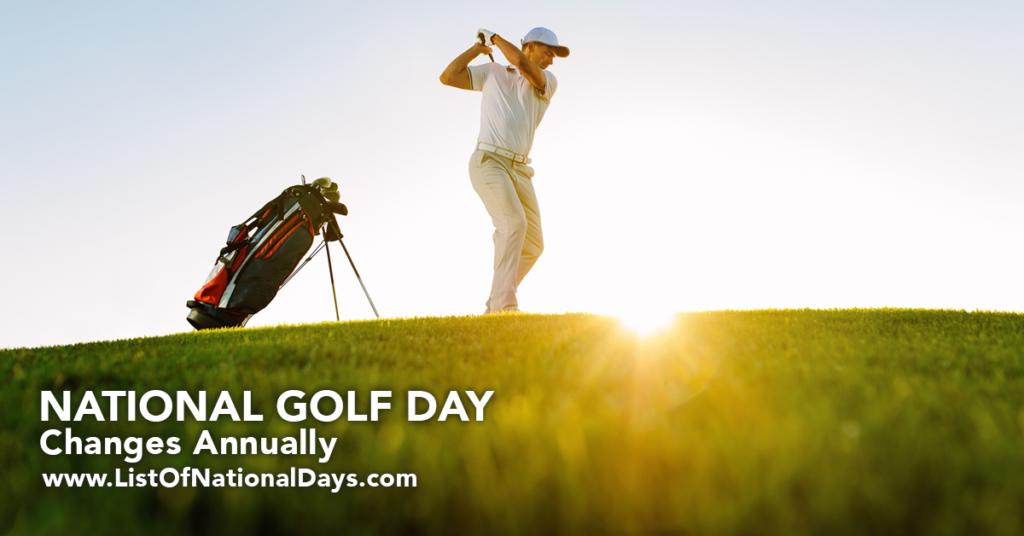 Golfer hitting golfball into the sun.