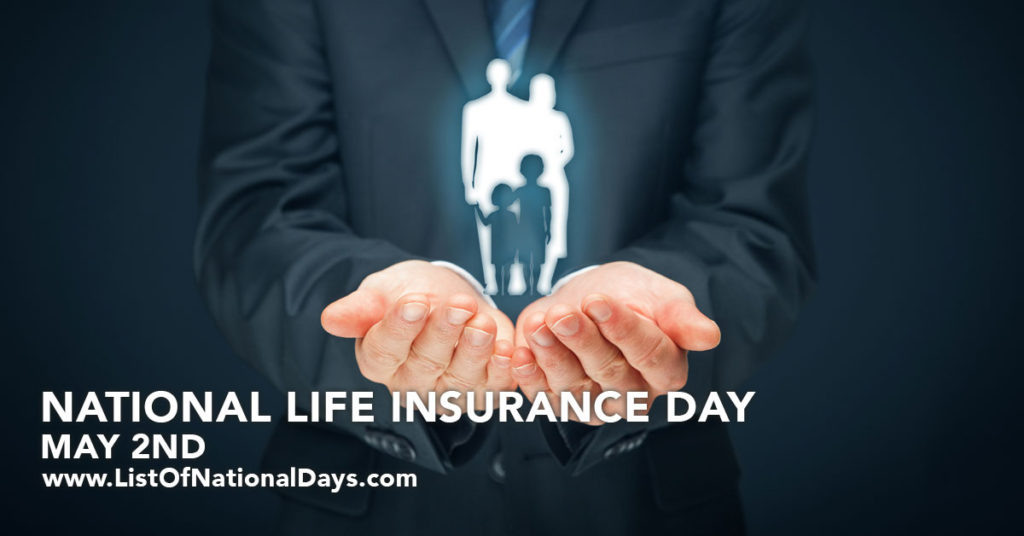 An insurance agent holding a family in his hands.