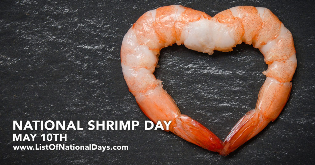 Two pieces of shrimp shaped like a heart.