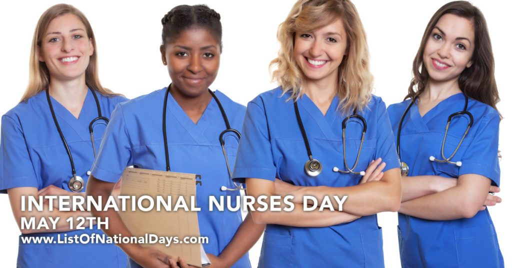 Four Nurses smiling at the camera with stethoscopes.