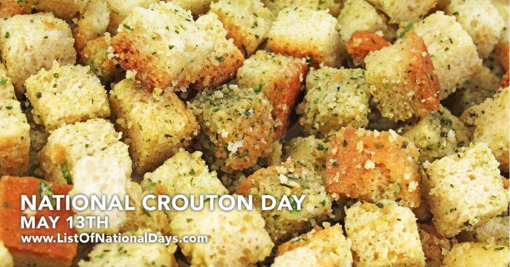 A pile of Croutons