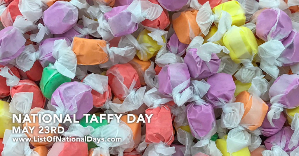 A pile of multi-colored taffy.