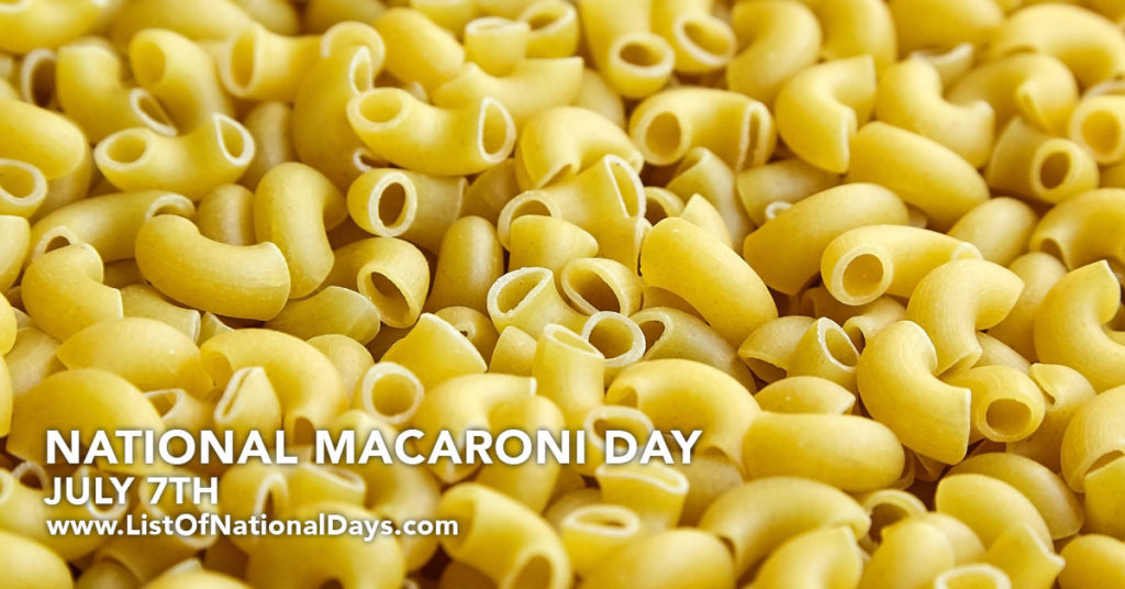 A pile of uncooked macaroni.